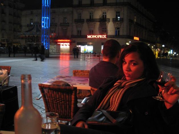 Place de la Comédie in Montpellier
